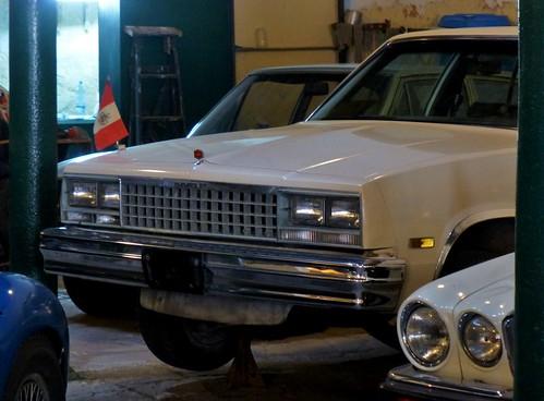 Chevrolet Malibu - Depósito del Automóvil, La Habana, Cuba