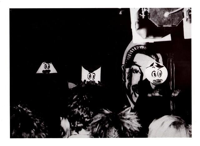 1987 - Abenteuer unter Tage - Mannheim Punk & Wave - In der Borelly Grotte - Kunst-Karte