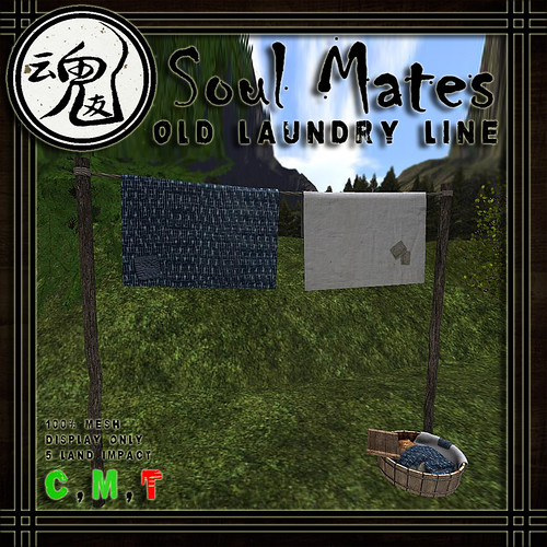 [Soul Mates] Old Laundry Line Ad