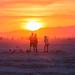 Golden Sunrise - Burning Man 2016 by jamenpercy