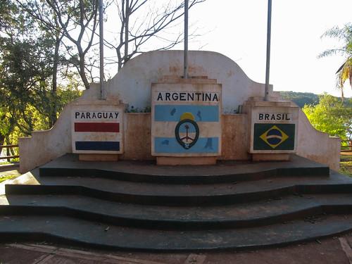 Puerto Iguazu: aux 3 frontières !