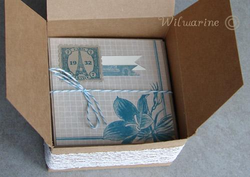 Mini album dans sa boîte