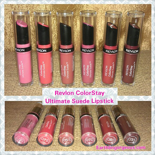 Revlon ColorStay Ultimate Suede Lipstick Swatches & Review ...