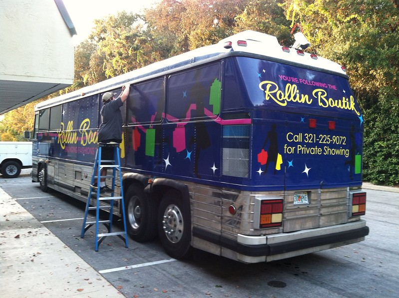 Bus wrap by TechnoSigns in Orlando