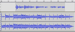 Radio Bumper in Audacity