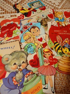 more vintage valentines from E