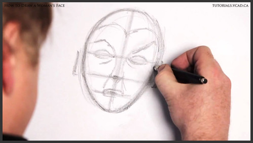 learn how to draw a womans face 010