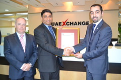 UAE Exchange accredited with TISSE 2012 for excellence in customer service