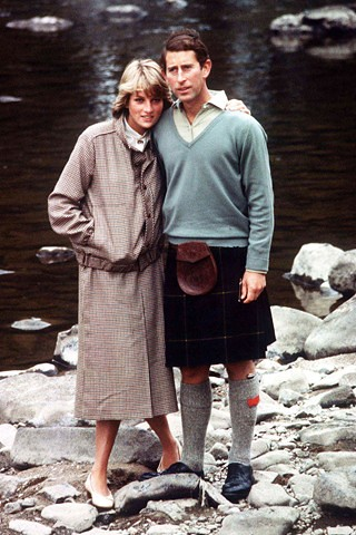 1981 diana Prince Charles and Princess Diana on their honeymoon in Balmoral00
