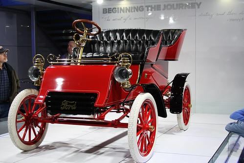 Ford...sold for $264,000