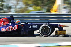 Vergne Testing in Jerez