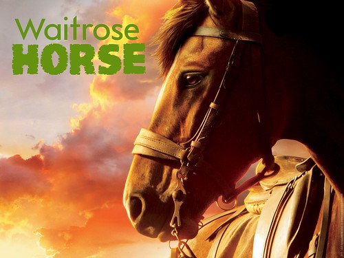 WAITROSE HORSE by Colonel Flick/WilliamBanzai7