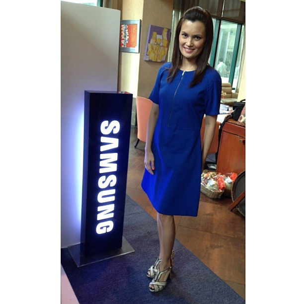 At the launch of @SamsungPH #samsungrefph, I wore #cos and @toryburch shoes. #ootd #whatiwore