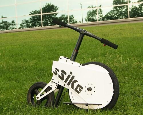 SSIKE – электросамокат, который потеснит Segway