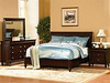Max Furniture Valle Sleigh Bed by Wynwood