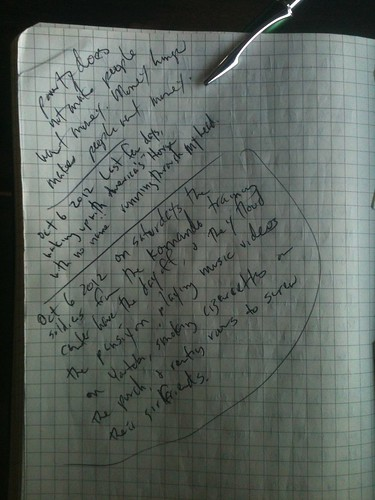 Journal page from October by mattkrause1969