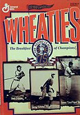 Wheaties cereal box honoring the 75th Commemorative Year of the Negro Leagues