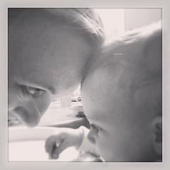 Forehead love. ❤