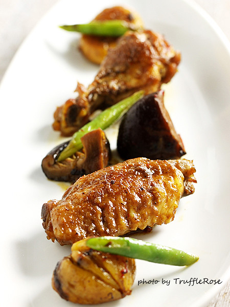 豆瓣栗子燒雞翅-20130218