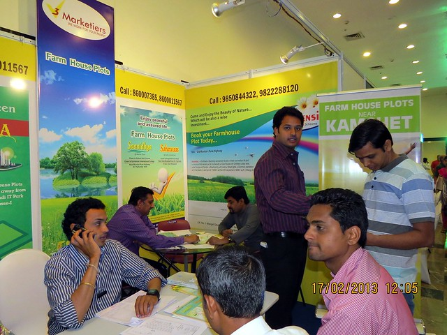 "Farm House Plots at Kamshet - The Times of India Pune Property Exhibition  ""Invest in West Pune""  16th & 17th February 2013"
