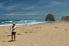me in front of the Twelve Apostles