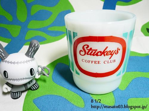 Fire King Stuckey's Coffee Club Mug