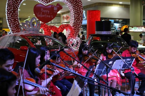 sm city lucena the sound of love valentines day