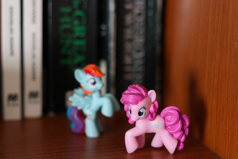 Sunday, February 17: Ponies! I found these mini MLPs at the Bangkok airport.