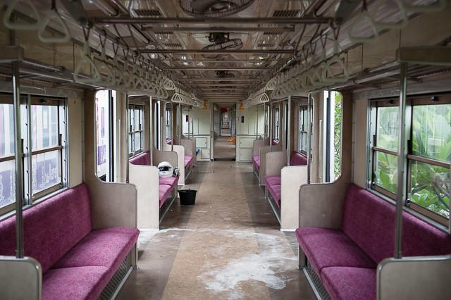 TokyoMetro Seri6000 6113F di Dipo DP