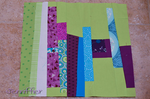 Renae Make it Modern Bee Block Feb