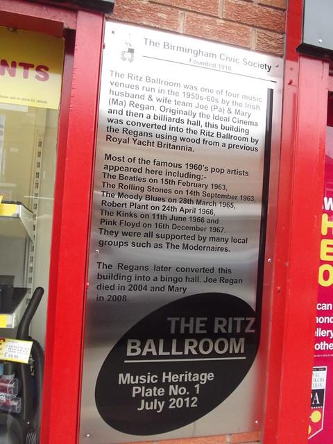Photo of Ritz Ballroom, Joe Regan, Mary Regan, The Beatles, and 5 other