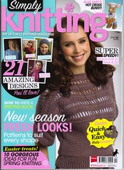 '  Simply Knitting' Issue 104.