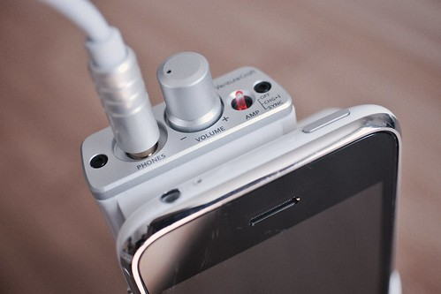 Headphone amplifier.