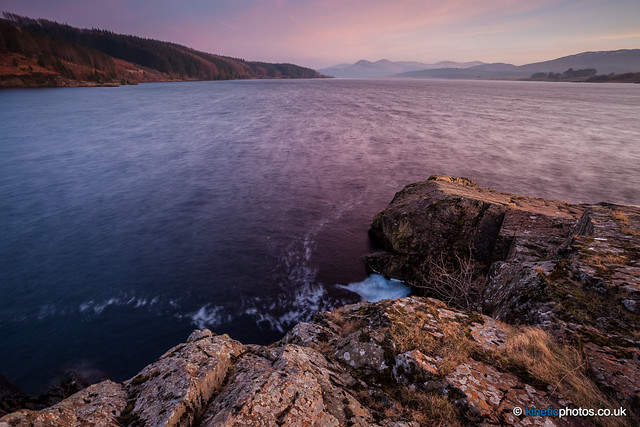 Loch Doon, post sunset [IMG_9883-85_Manual]