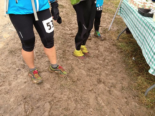 Mud at the Aid Station