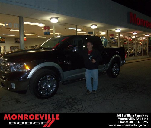 Congratulations to Peter Maltese Jr on the 2013 Dodge Ram by Monroeville Dodge