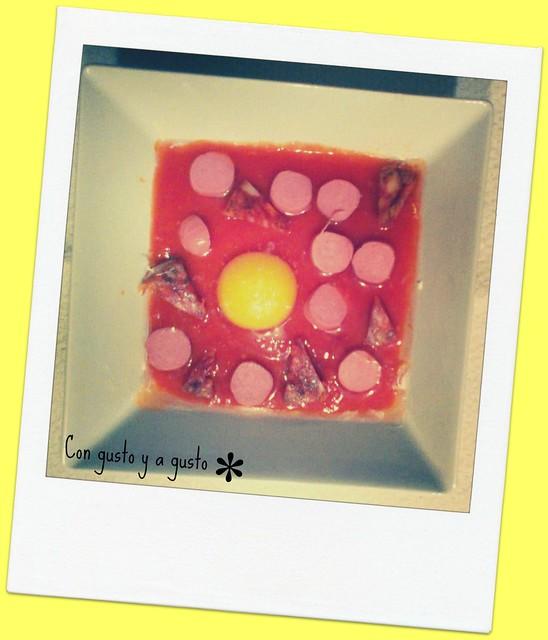 huevos al plato-foto