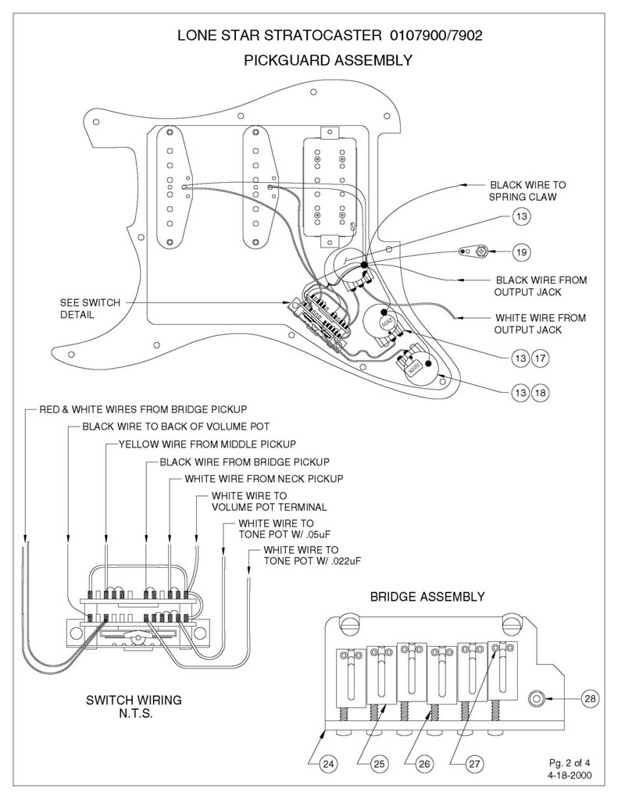 Well I never knew that - Fender Lonestar Stratocaster Content Fender Lonestar Strat Wiring Diagram on