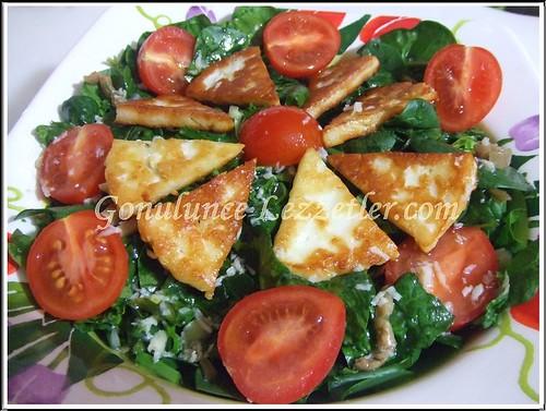ıspanak salat 2