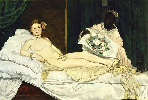 """Edouard Manet """"Olympia"""" 1863"""