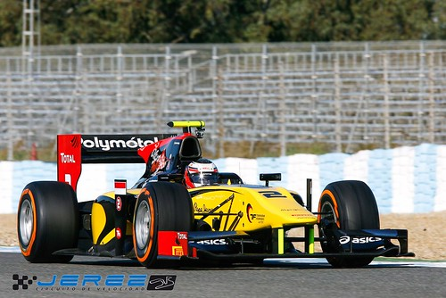 Stephane Richelmi test GP2 Circuito de Jerez 2013