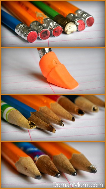 Saving Time During School: Ditching Wooden Pencils (The Organized Doman Parent)