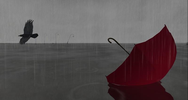 2304 Rain - Red