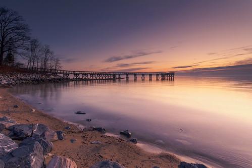 beach sunrise dawn pier jetty earlymorning maryland pastels pasadena chesapeakebay waterscape photooftheday downspark reflectedcolors gentlewaves edwardkreis dkiphotography capturemaryland