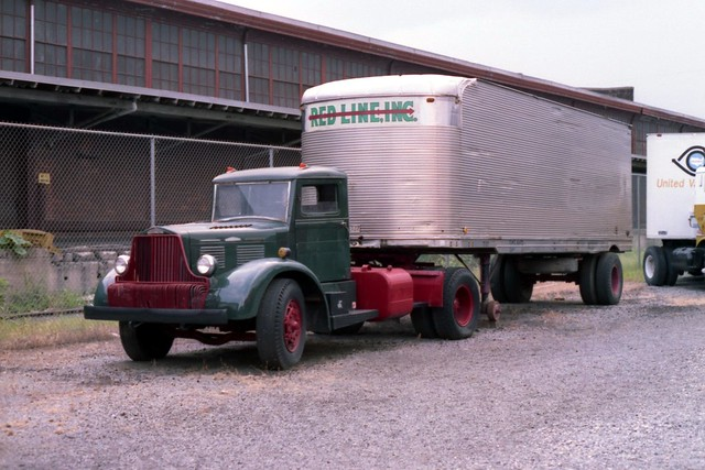 Antique Tractor Trailers : Vintage tractor trailer flickr photo sharing