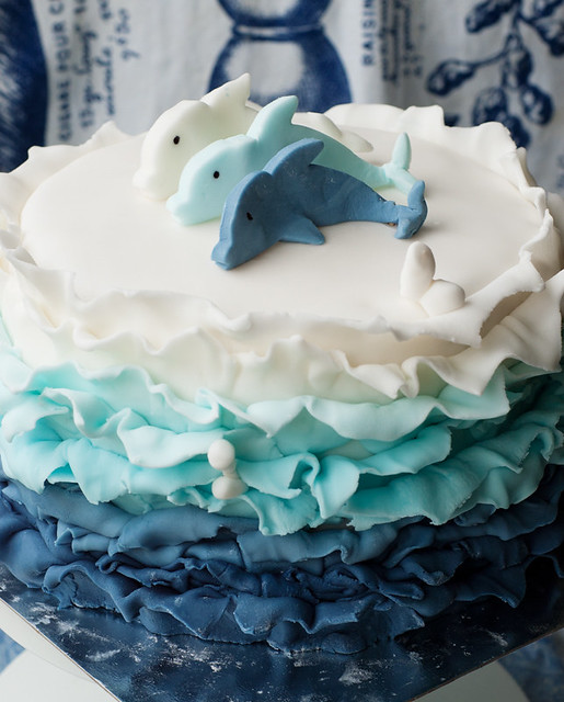 blue ombre cake ruffles sugar paste></a></p><p><br></p><p>Do you have a list of foods (most often desserts) that you want to try?</p><p>Mine includes:</p><p><br></p><p>Ombre cake - check</p><p>Swiss meringue butter cream - check</p><p>Creme patissiere - check</p><p> Hidemi Sugino's beautiful and delightful entremets </p><p></p><p>Joconde imprime</p><p>Creme patissiere with infused milk</p><p>Creme mousseline</p><p>Sacher torte</p><p></p><p> and some more but I would be happy if I could make these in the first half of the year.</p><p><br></p><p>As we can'rt keep all that nice stuff to ourselves here is where friends come in handy! Especially the friends with birthdays :)</p><p>I had the chance to try the ombre cake and the Swiss meringue butter cream in one go thanks to a little fellow's birthday.</p><p><br></p><p></p><p><a href=