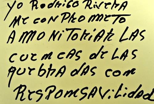 Carta de Amor de Rodrigo Rivera, del municipio de Sabaneta