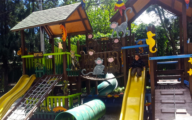 playground at the kids museum in guatemala