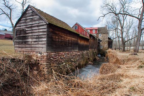 mill buckscountypa watermill lumbermill grainmill nationalregisterofhistoricplaces stovermyersmill