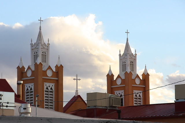 Church Spires ~ Old Town Albuquerque